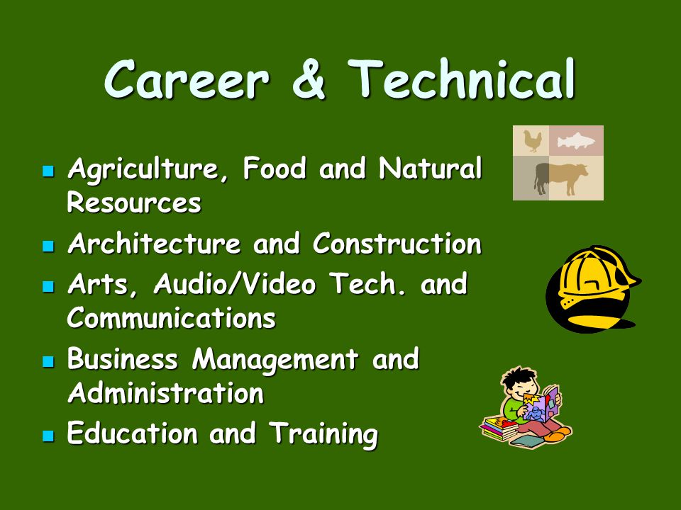 Career & Technical Agriculture, Food and Natural Resources