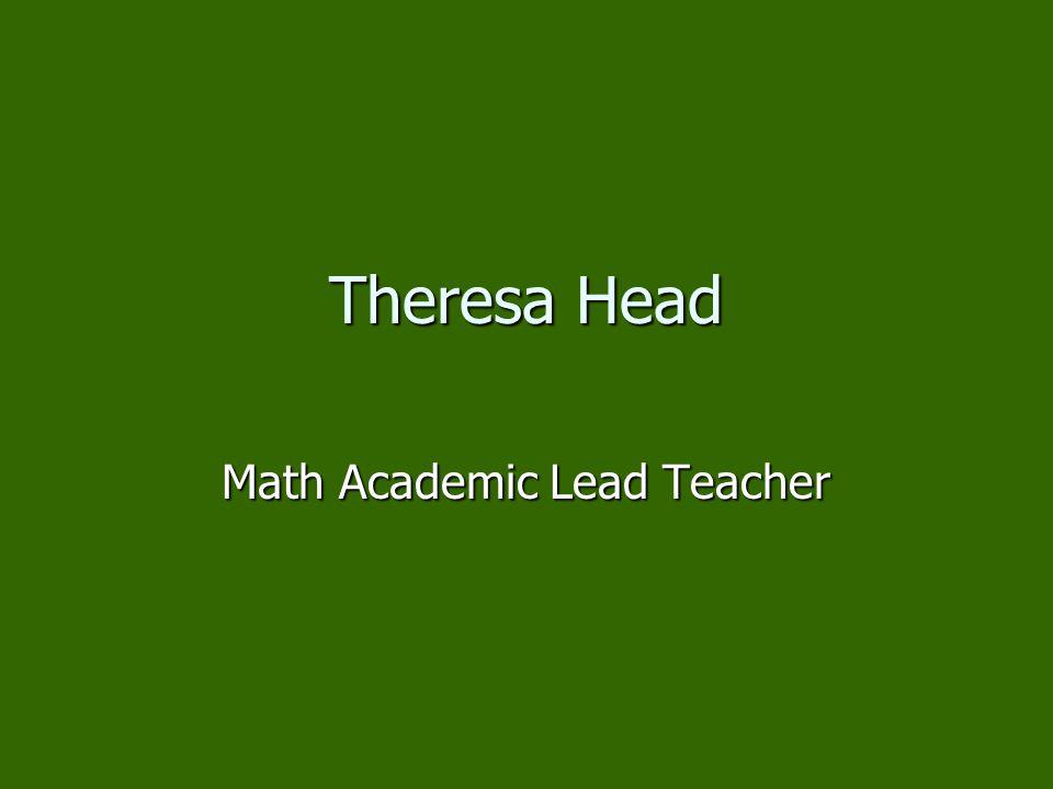 Math Academic Lead Teacher