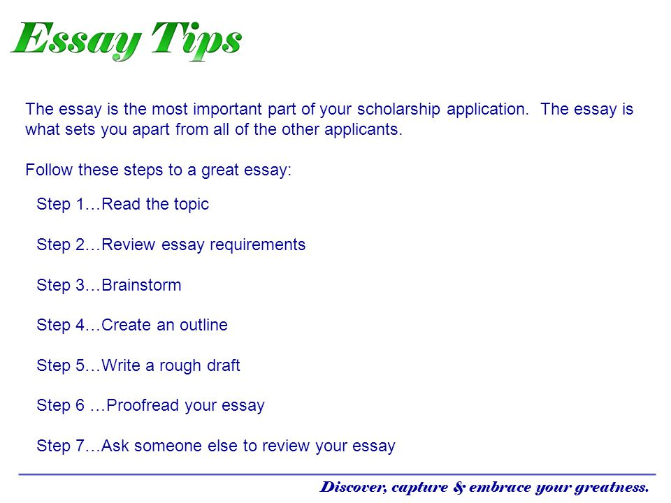 what packages you will out essay