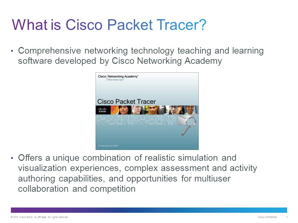 What is Cisco Packet Tracer