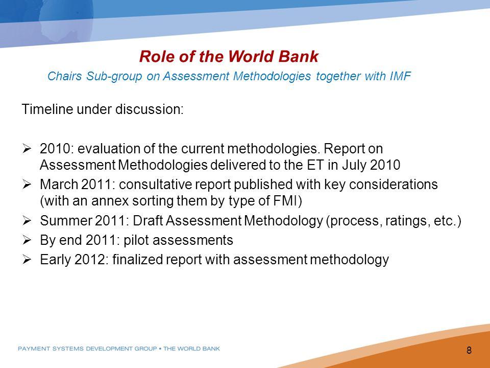 New Assessment Methodology