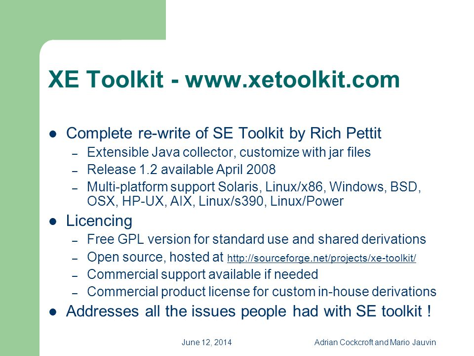 XE Toolkit - www.xetoolkit.com