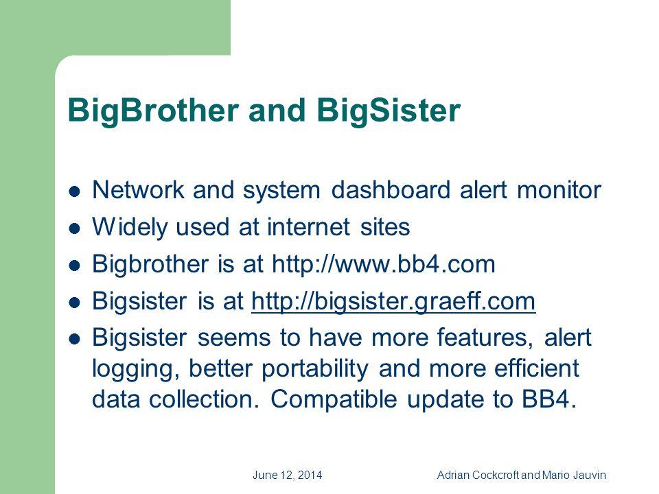 BigBrother and BigSister