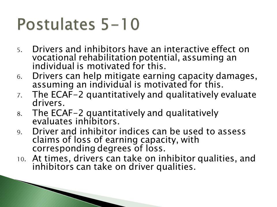 Postulates 5-10