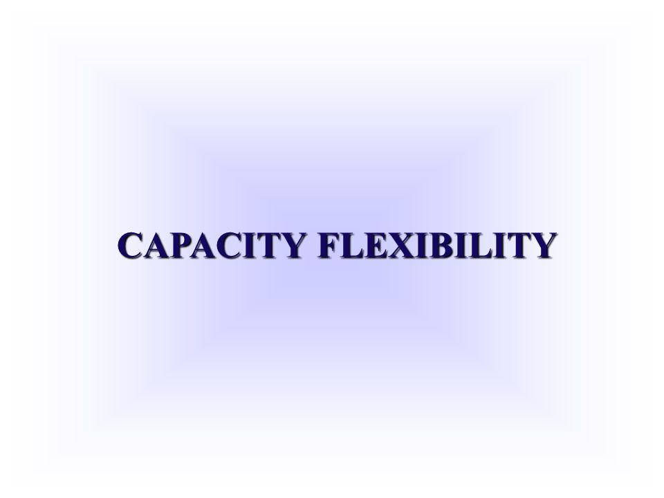 CAPACITY FLEXIBILITY
