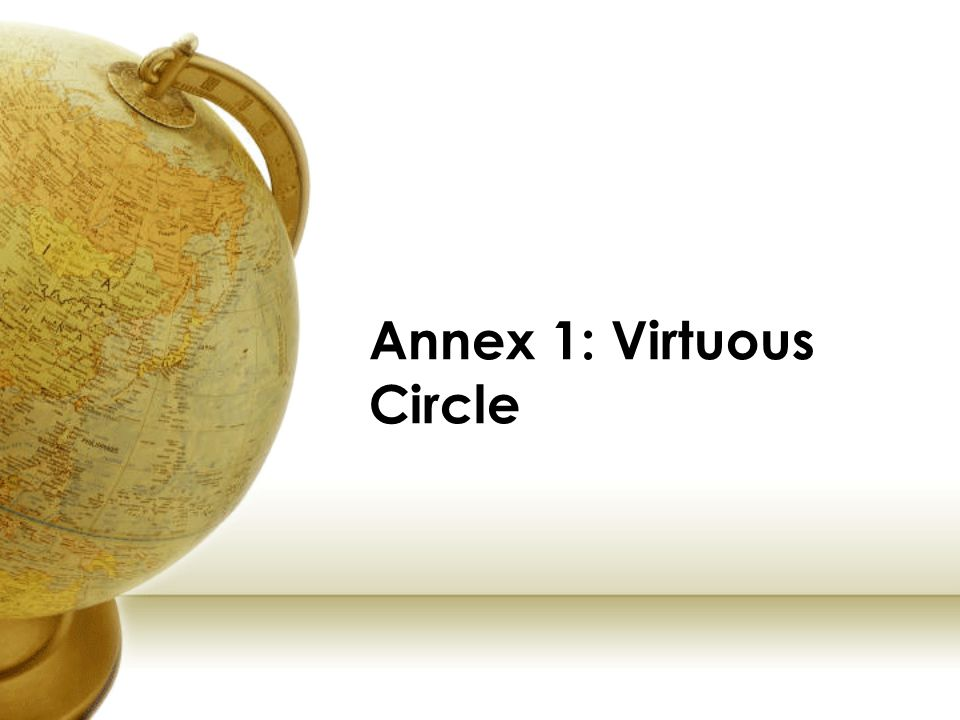 Annex 1: Virtuous Circle