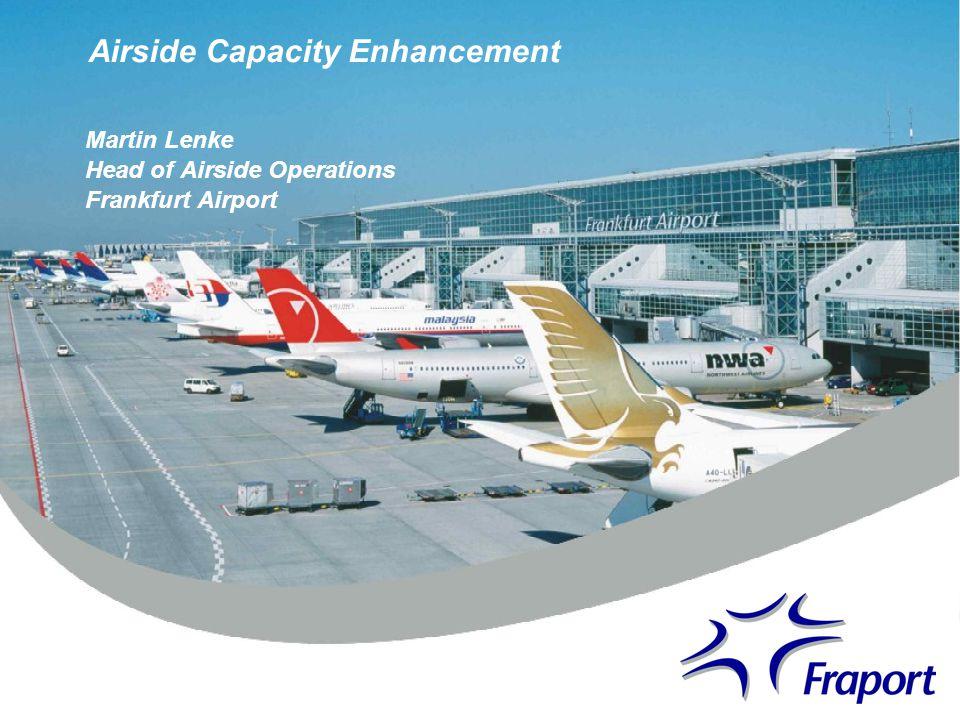 Airside Capacity Enhancement