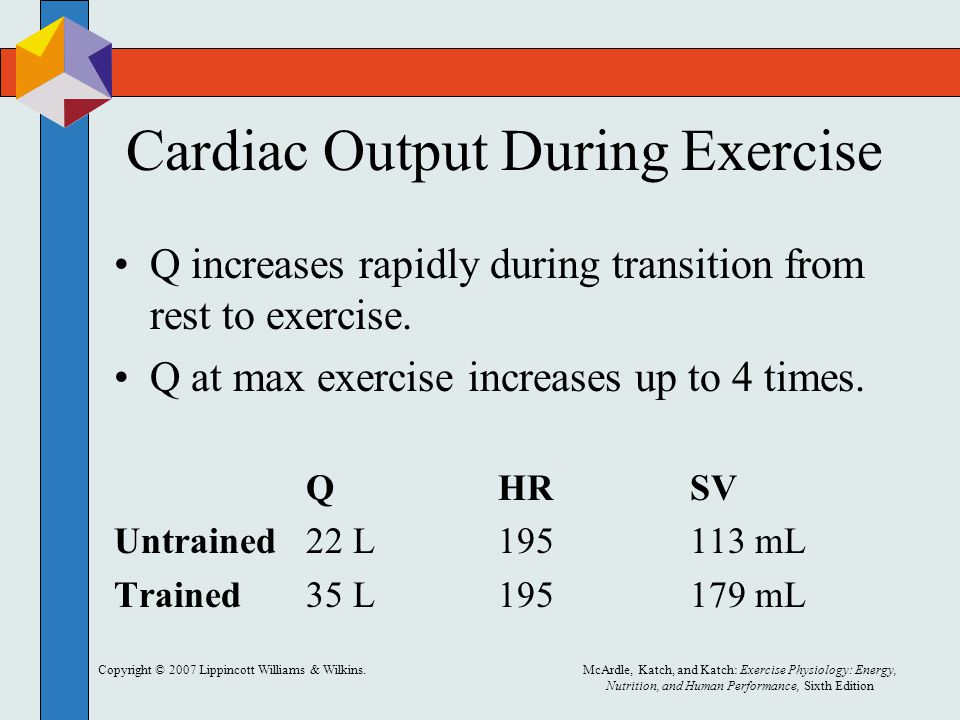 Cardiac Output During Exercise