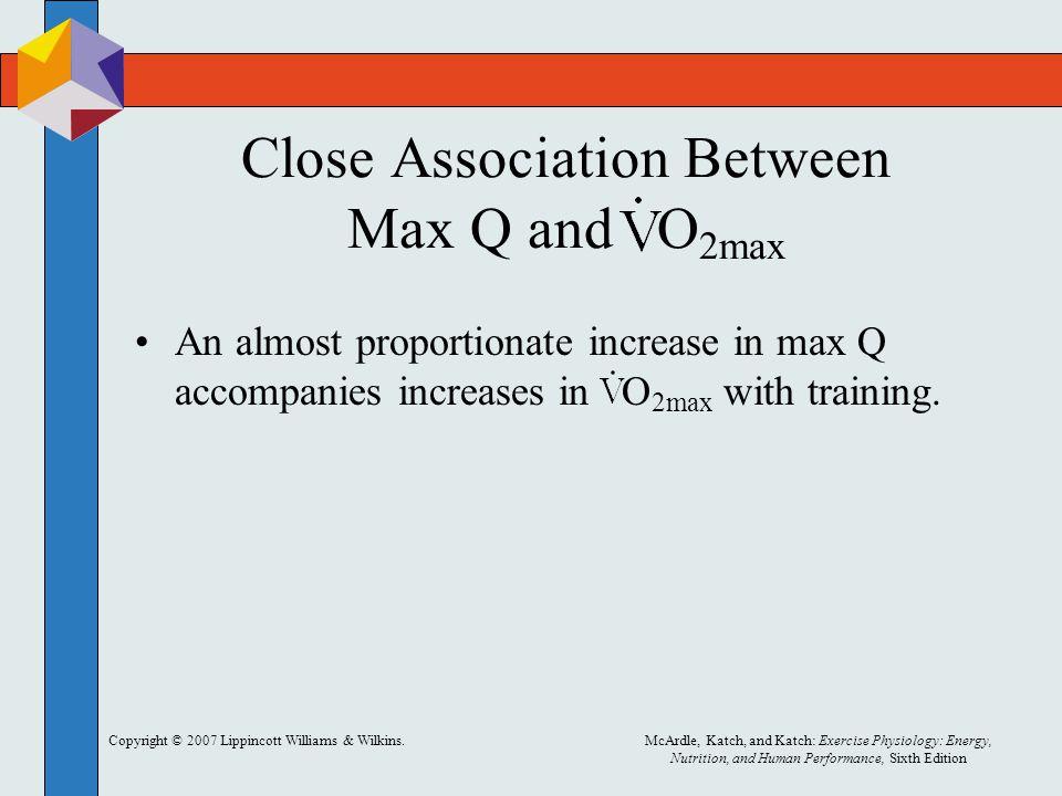 Close Association Between Max Q and O2max