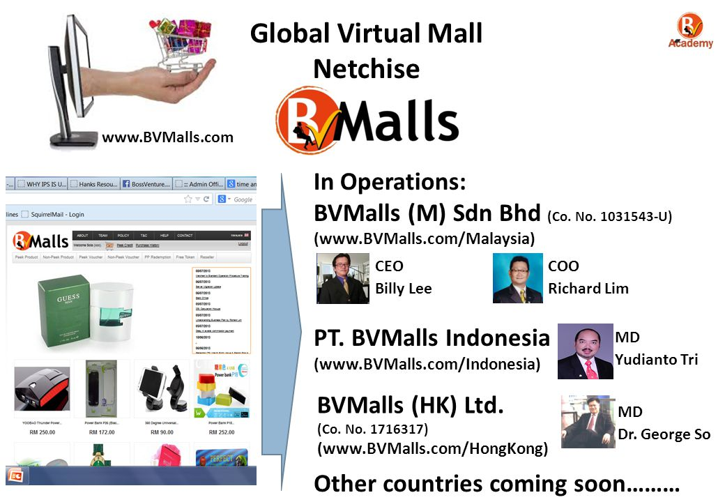 Global Virtual Mall Netchise