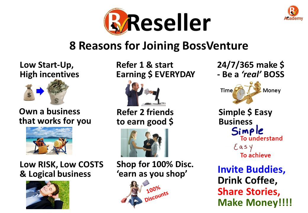 8 Reasons for Joining BossVenture