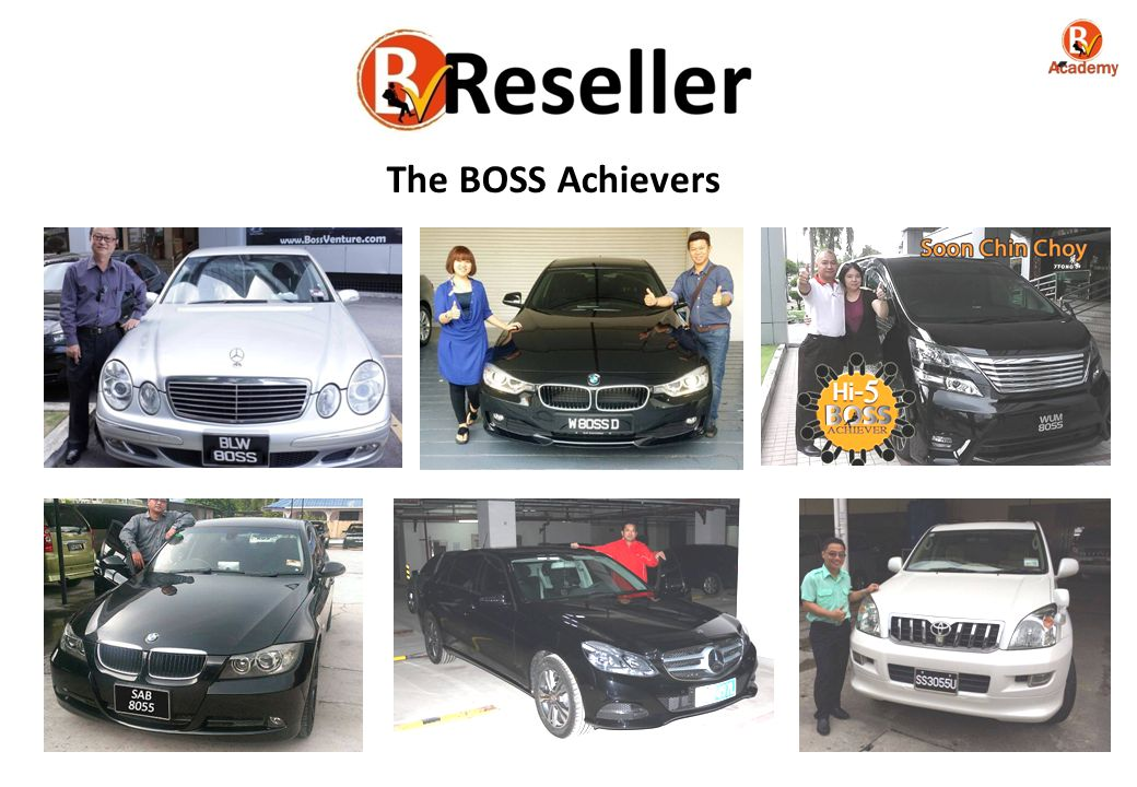 The BOSS Achievers