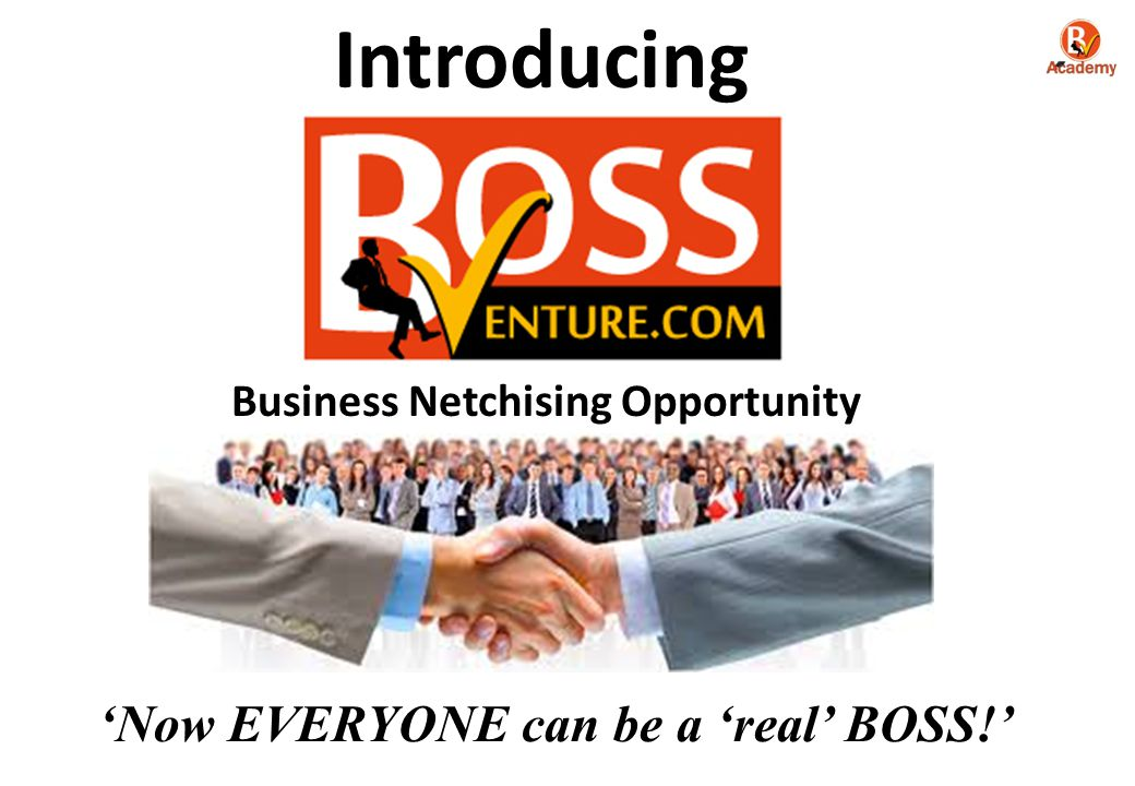 Business Netchising Opportunity
