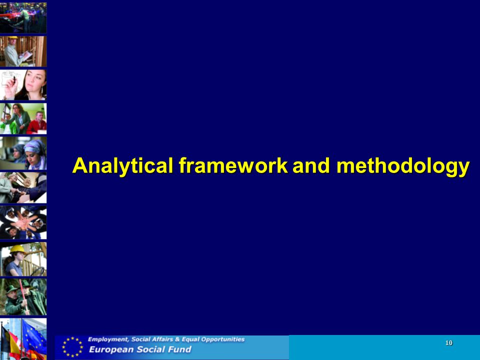 Analytical framework and methodology