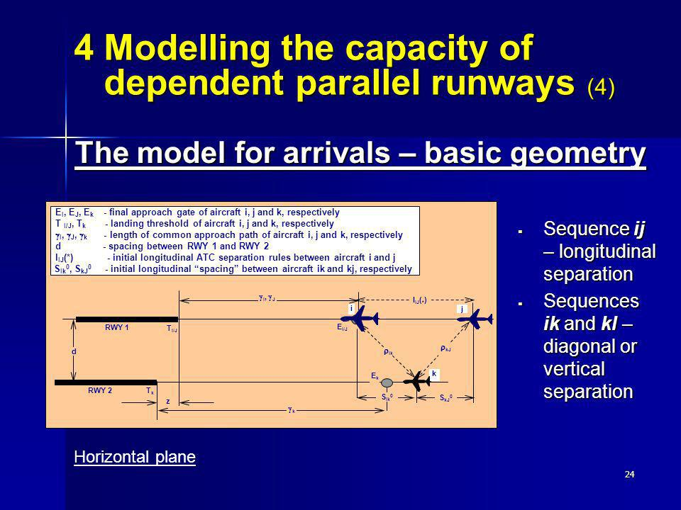 4 Modelling the capacity of dependent parallel runways (4)