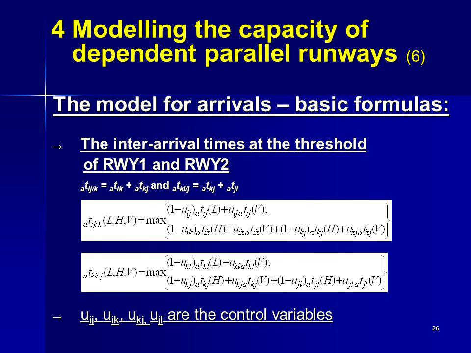 4 Modelling the capacity of dependent parallel runways (6)