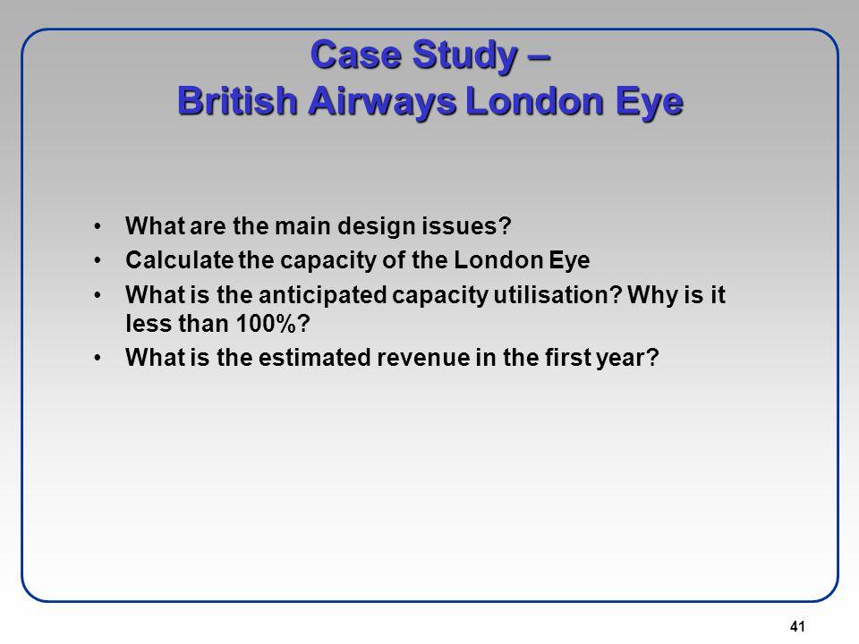 Case Study – British Airways London Eye