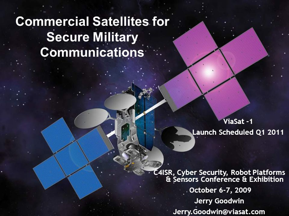 Commercial Satellites for Secure Military Communications