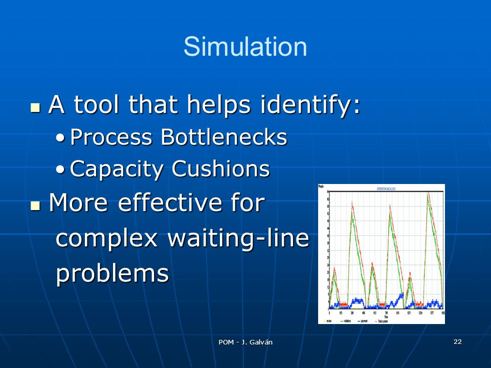 Simulation A tool that helps identify: More effective for