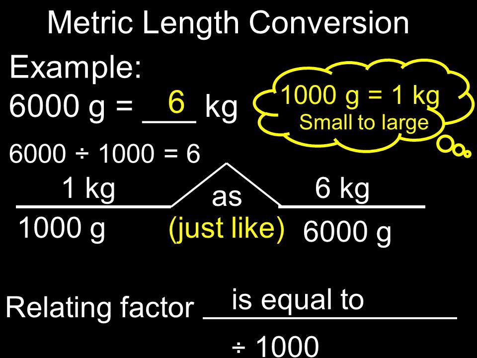 Metric Length Conversion