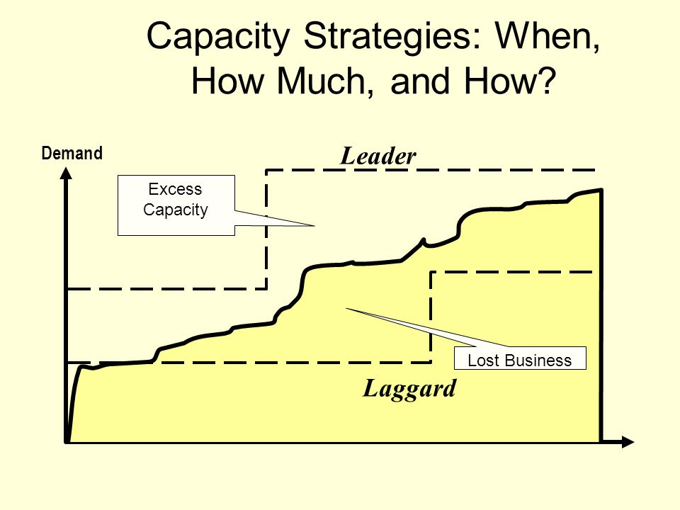 Capacity Strategies: When, How Much, and How