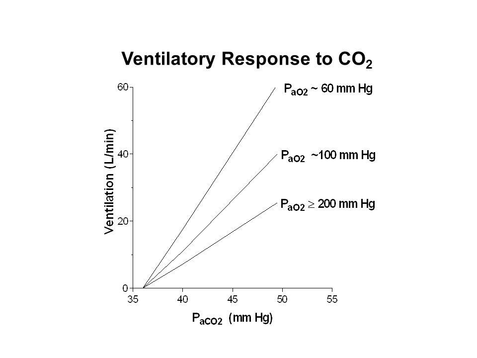 Ventilatory Response to CO2