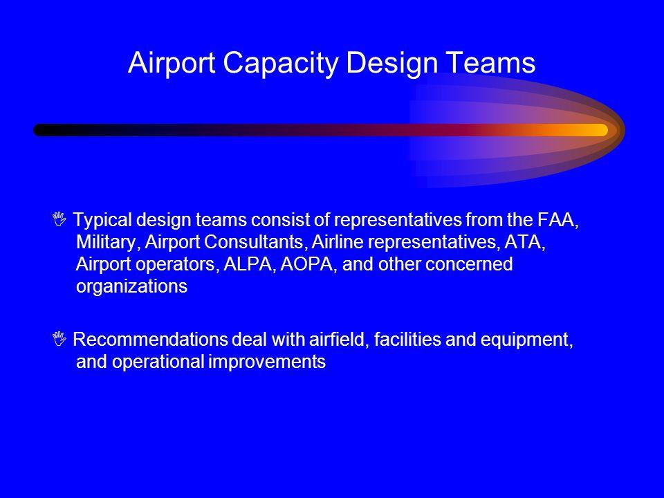 Airport Capacity Design Teams