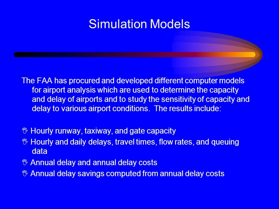 Simulation Models