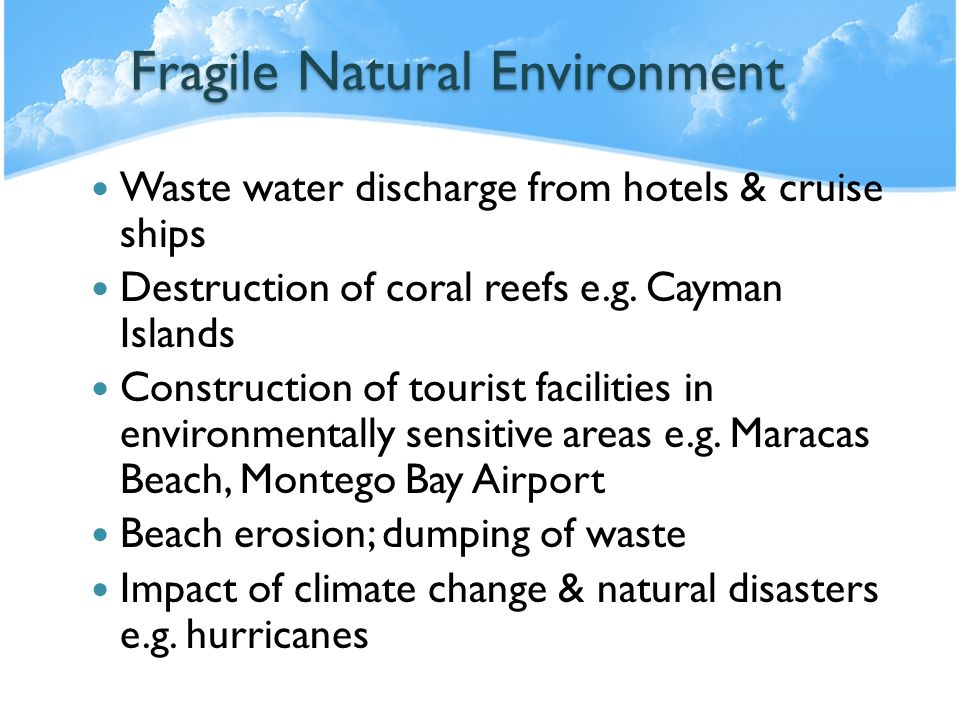 Fragile Natural Environment