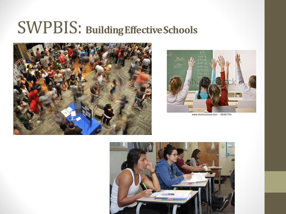 SWPBIS: Building Effective Schools