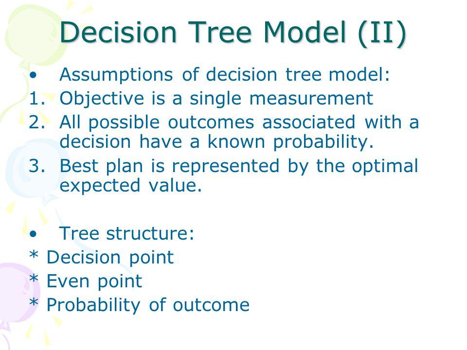 Decision Tree Model (II)