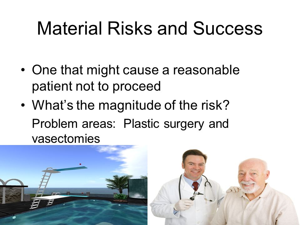 Material Risks and Success