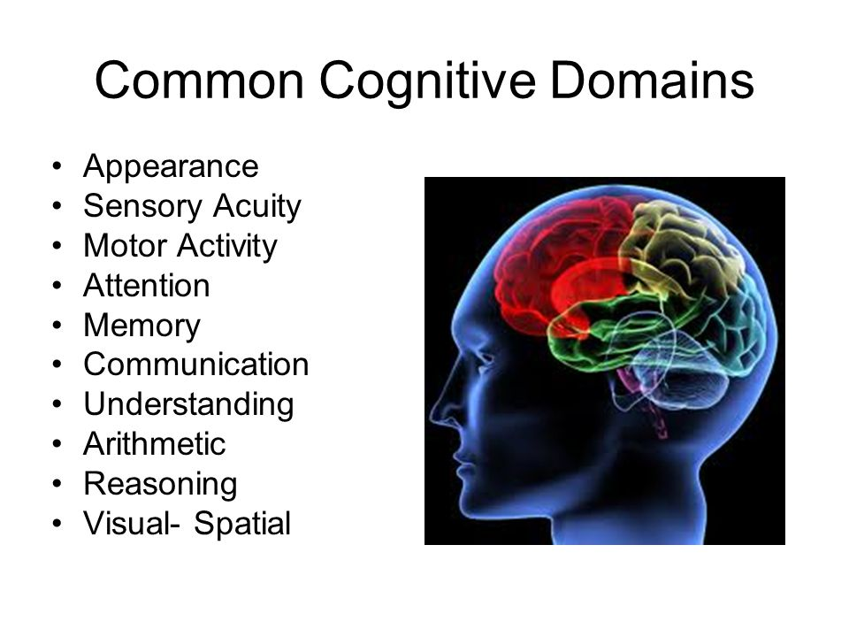 Common Cognitive Domains