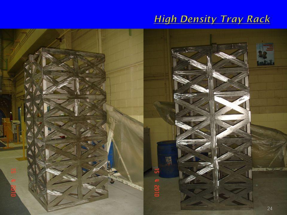 High Density Tray Rack