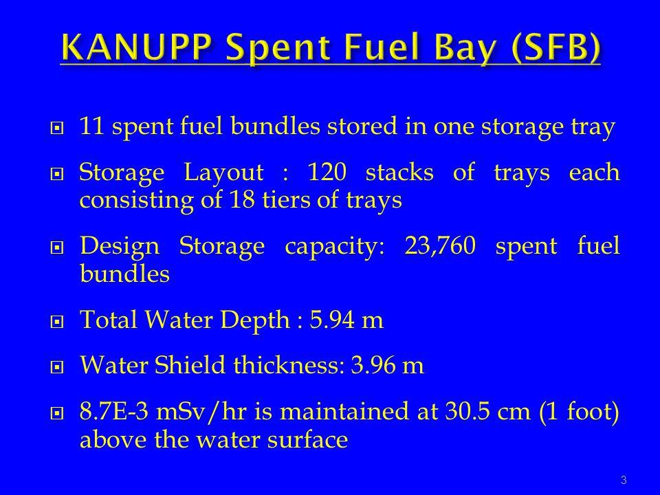 KANUPP Spent Fuel Bay (SFB)