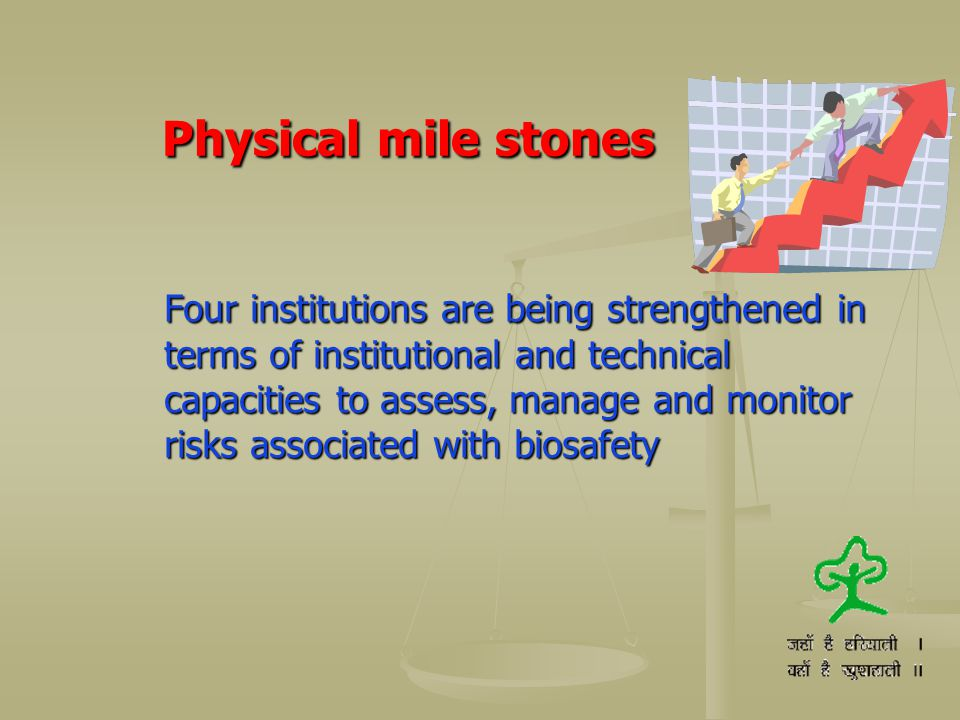 Physical mile stones