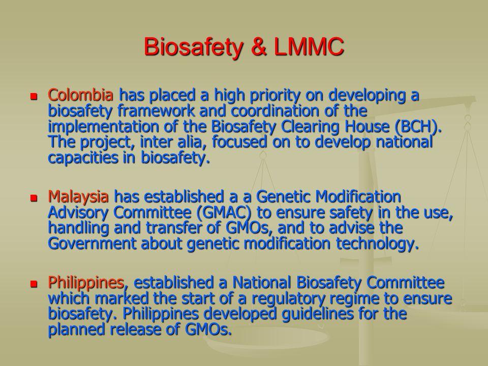 Biosafety & LMMC