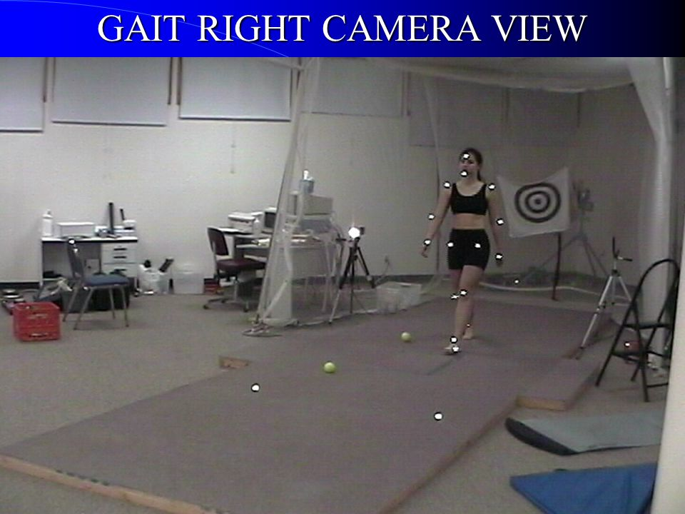 GAIT RIGHT CAMERA VIEW