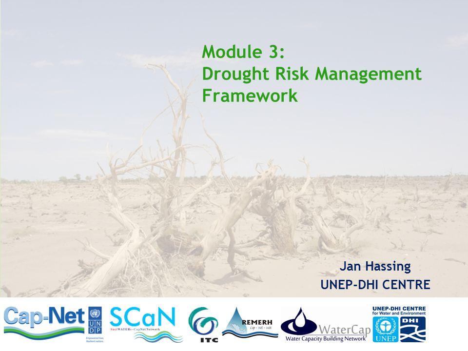 Module 3: Drought Risk Management Framework