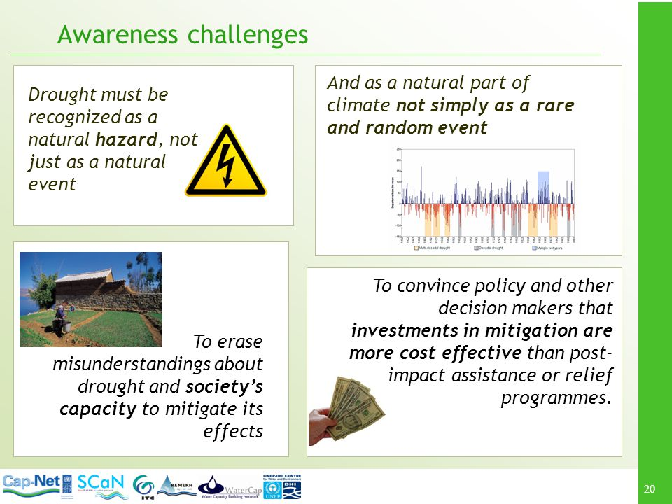 Awareness challenges And as a natural part of climate not simply as a rare and random event.