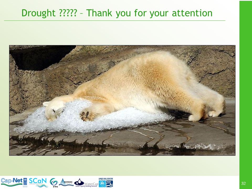 Drought – Thank you for your attention