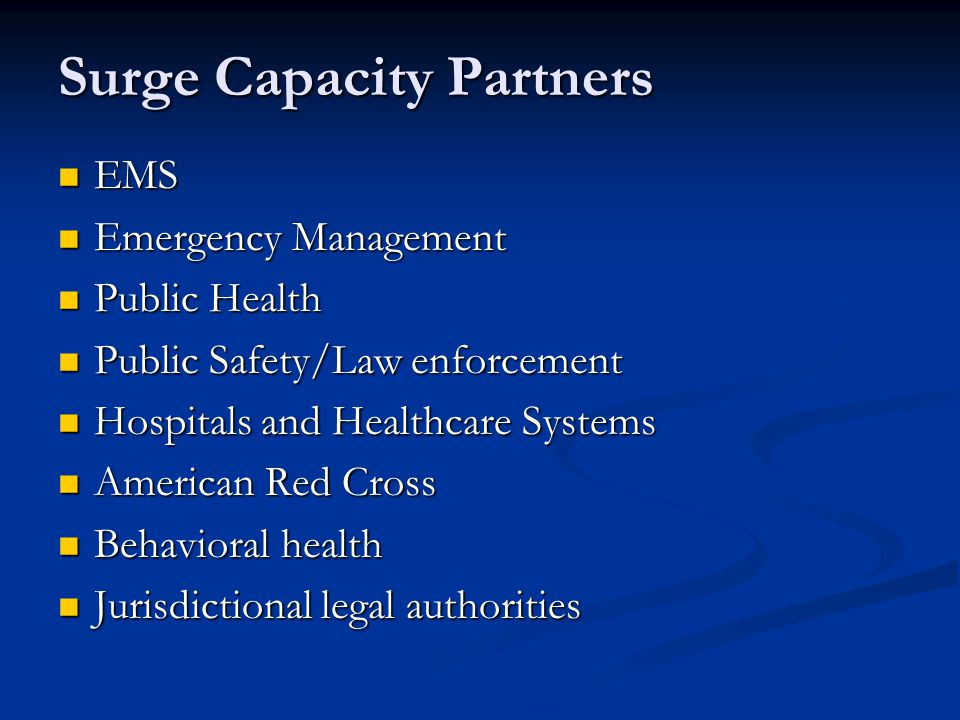 Surge Capacity Partners