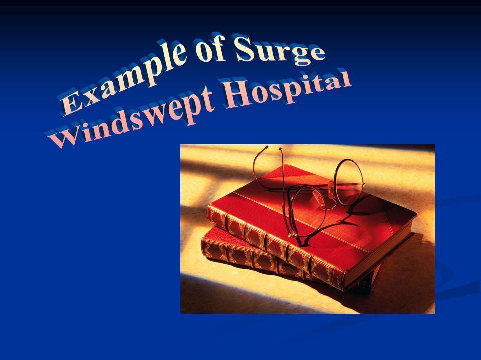 Example of Surge Windswept Hospital