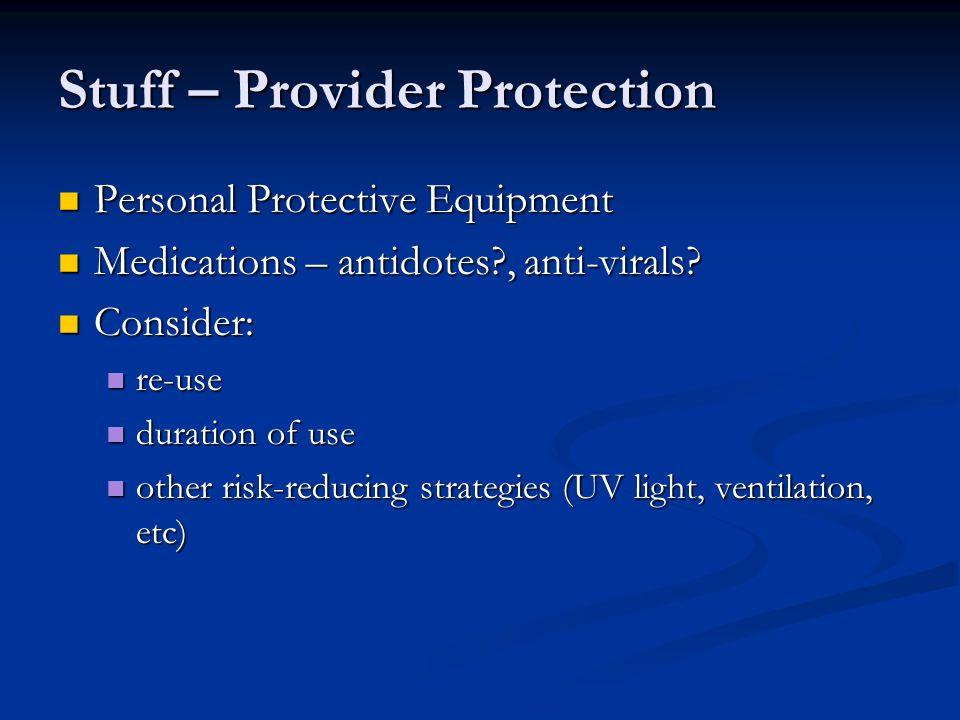 Stuff – Provider Protection