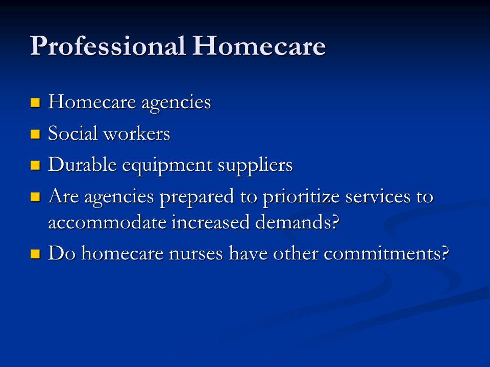 Professional Homecare