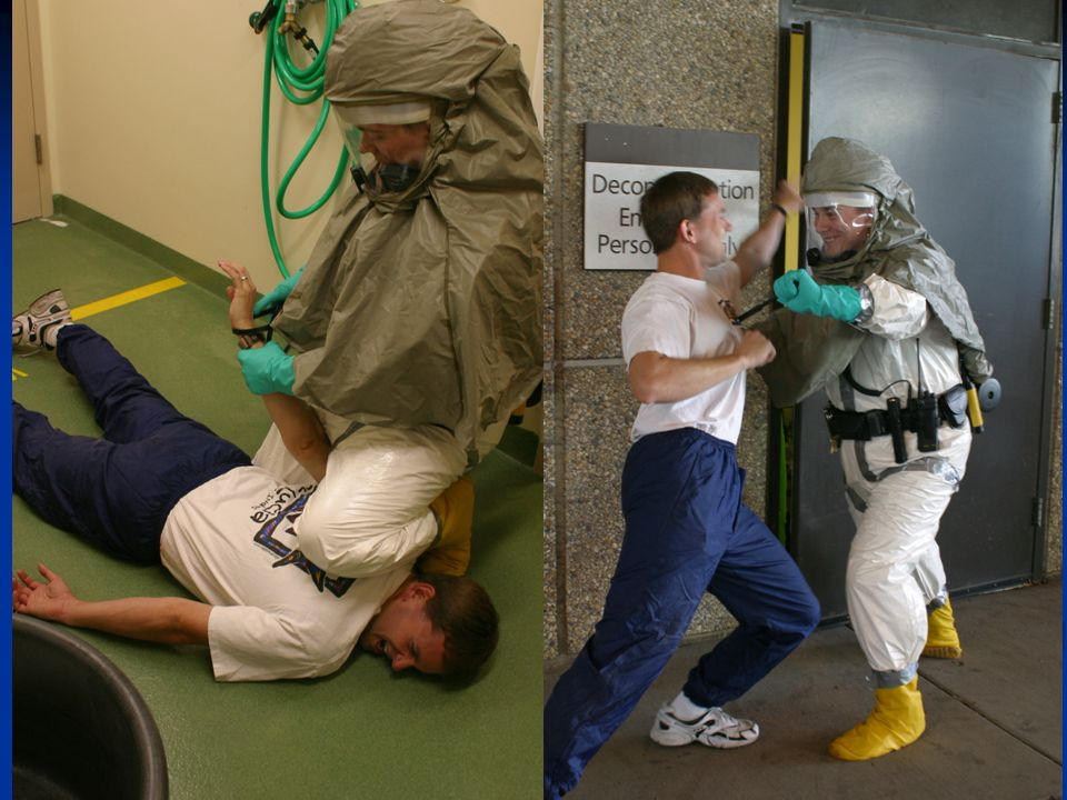 Can your security personnel operate while in PPE