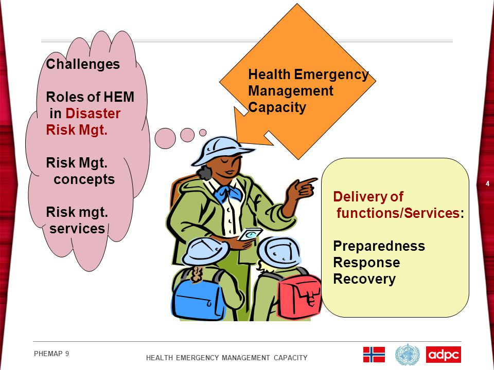 Challenges Health Emergency Roles of HEM Management in Disaster