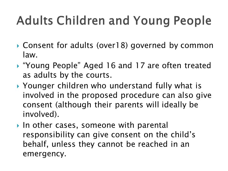 Adults Children and Young People