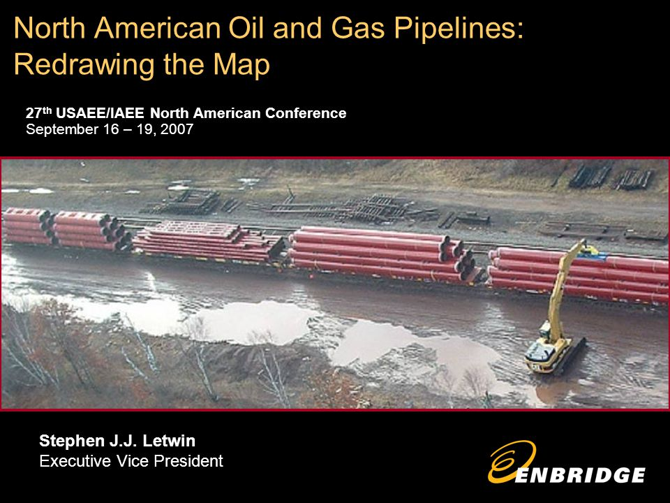 North American Oil and Gas Pipelines: Redrawing the Map