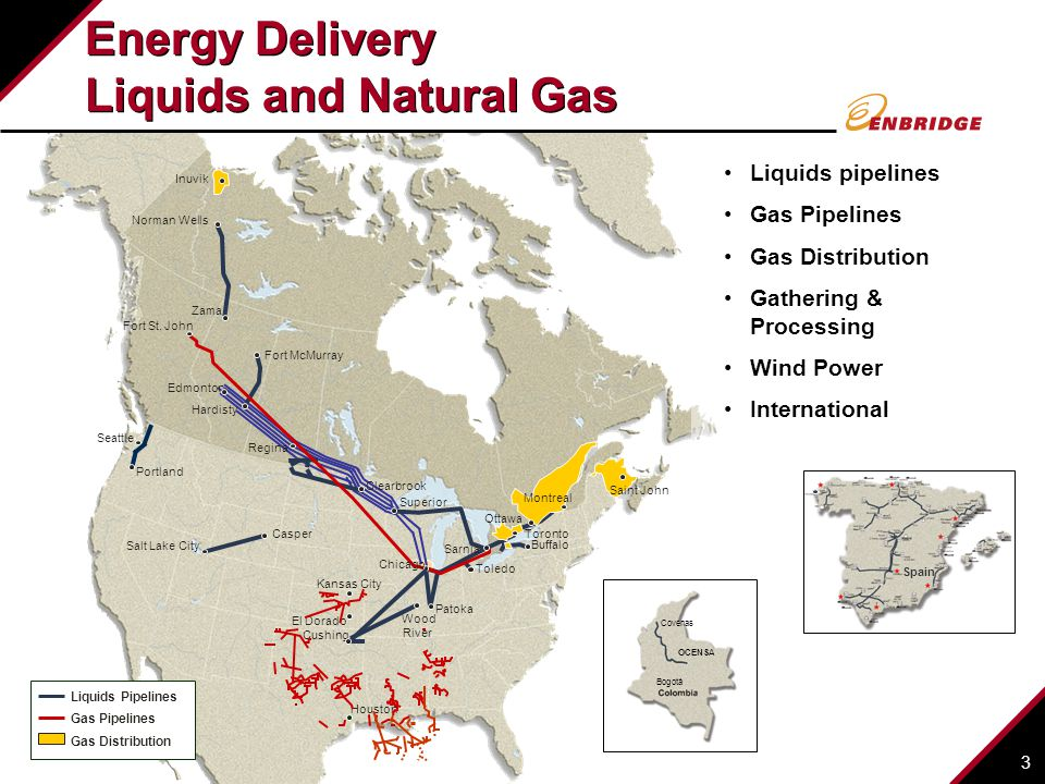 Energy Delivery Liquids and Natural Gas